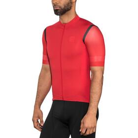 Craft Hale Glow Koszulka rowerowa z zamkiem błyskawicznym Mężczyźni, canyon/black